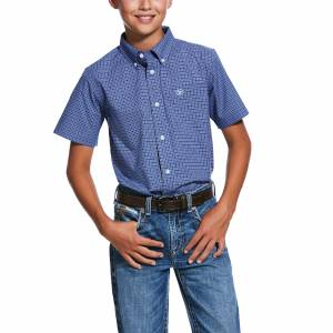 Ariat Kids Pro Series Temecula Short Sleeve Classic Fit Shirt