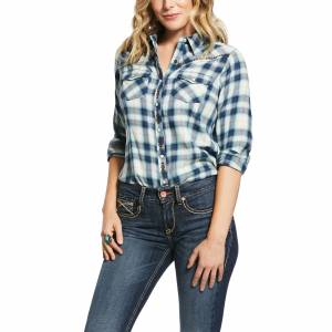 Ariat Ladies REAL Integrity Long Sleeve Snap Shirt