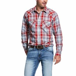 Ariat Mens Queslor Retro Fit Long Sleeve Snap Shirt