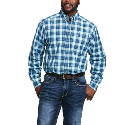 Ariat Mens Pro Series Roselle Classic Fit Long Sleeve Shirt