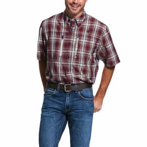 Ariat Mens VentTEK Classic Fit Short Sleeve Shirt