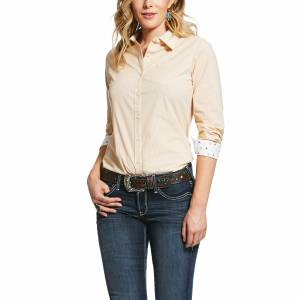 Ariat Ladies Kirby Wrinkle Resist Long Sleeve Stretch Shirt