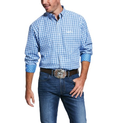 Ariat Mens Relentless Stout Stretch Classic Fit Long Sleeve Shirt