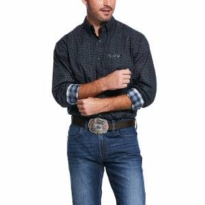 Ariat Mens Relentless Lionheart Stretch Classic Fit Long Sleeve Shirt