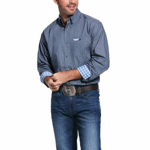 Ariat Mens Relentless Forceful Stretch Classic Fit Long Sleeve Shirt