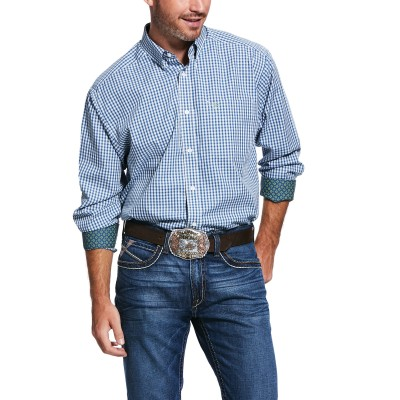 Ariat Mens Wrinkle Free Zestmont Classic Fit Long Sleeve Shirt