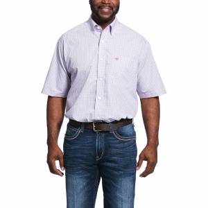 Ariat Mens Wrinkle Free Umson Classic Fit Short Sleeve Shirt