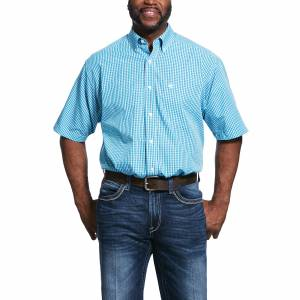 Ariat Mens Wrinkle Free Unland Classic Fit Long Sleeve Shirt
