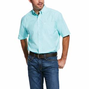Ariat Mens Pro Series Rexbury Classic Fit Short Sleeve Shirt