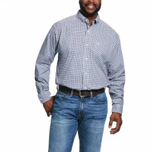 Ariat Mens Pro Series Ridgefield Classic Fit Long Sleeve Shirt