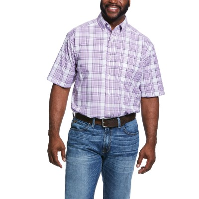 Ariat Mens Pro Series Russelville Classic Fit Short Sleeve Shirt