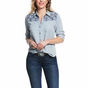 Ariat Ladies Long Road Long Sleeve Shirt