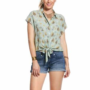 Ariat Ladies Sun Kissed Cap Sleeve Shirt