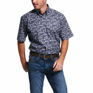 Grandon Print Classic Fit Short Sleeve Shirt