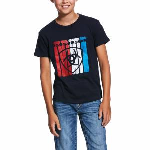 Ariat Kids Standing Tall Short Sleeve T-Shirt