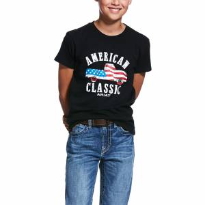 Ariat Kids American Classic Short Sleeve T-Shirt