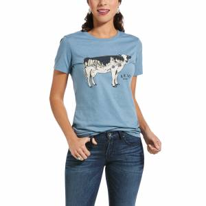 Ariat Ladies Cowscape Short Sleeve T-Shirt