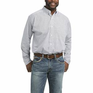 Ariat Mens Nemano Classic Fit Long Sleeve Shirt