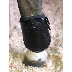 Majyk Equipe Estrella Carbon Leather Fetlock Boots - Sold in Pairs