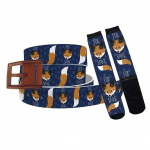 C4 For Fox Sake Belt & Sock Combo