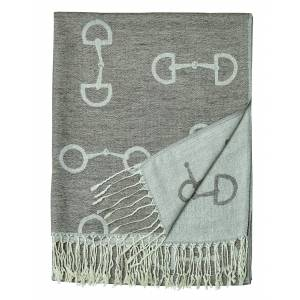 Kelley Ladies Snaffle Bit Pashmina Scarf