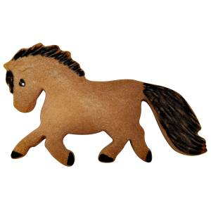 Kelley Pony Cookie Cutter in Gift Box