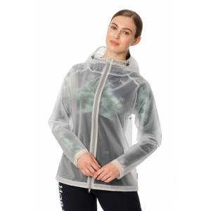 Horseware Ladies Transparent Waterproof Rain Jacket