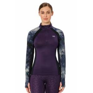 Horseware Ladies Aveen Half Zip Techicnical Long Sleeve Top