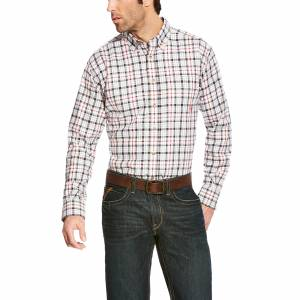 Ariat Mens Flame Resistant Briggs Long Sleeve Work Shirt