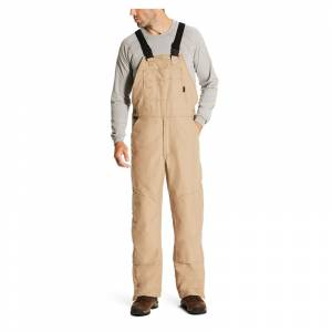 Ariat Mens Flame Resistant Insulated Overall Bibs