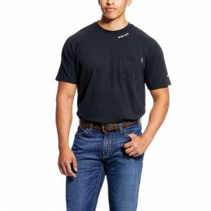 Ariat Mens Flame Resistant Short Sleeve Baselayer T-Shirt
