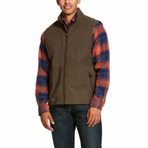 Ariat Mens Rebar Stretch Canvas Softshell Vest