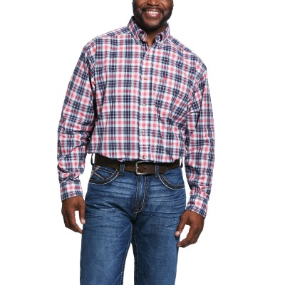 Ariat Mens Pro Series Shannon Classic Fit Long Sleeve Shirt
