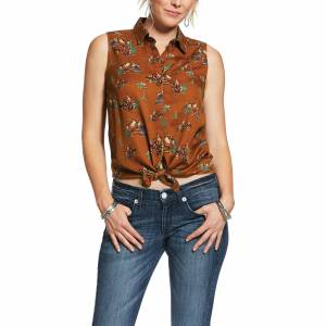 Ariat Ladies Welcome To The Ranch Tank Top