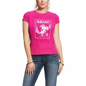 Ariat Ladies REAL Stamp Short Sleeve T-Shirt