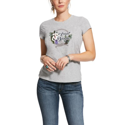 Ariat Ladies REAL Roped Frame Short Sleeve T-Shirt
