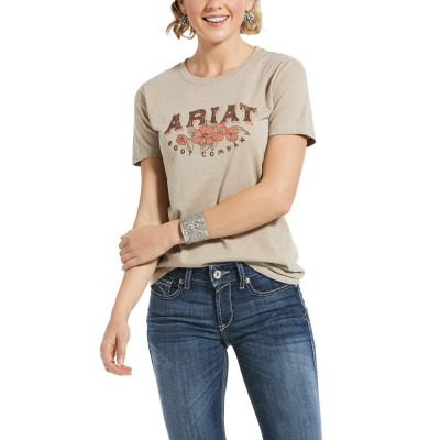 Ariat Ladies Roses and Thorns Short Sleeve T-Shirt