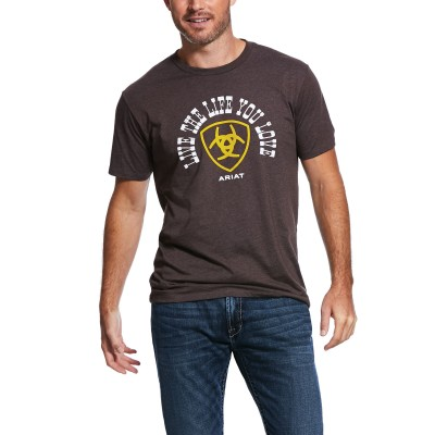 Ariat Mens Live The Life Short Sleeve T-Shirt