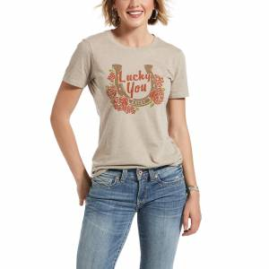 Ariat Ladies Lucky You Short Sleeve T-Shirt