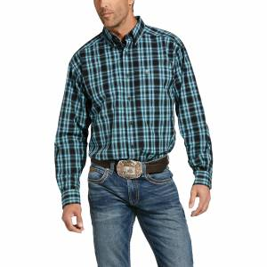 Ariat Mens Pro Series Iberville Classic Fit Long Sleeve Shirt