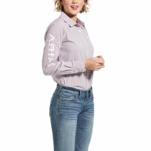 Ariat Ladies Team Kirby Stretch Long Sleeve Shirt