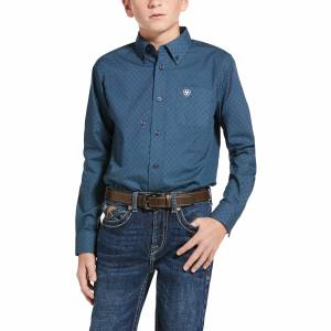 Ariat Kids Jennersville Classic Fit Long Sleeve Shirt