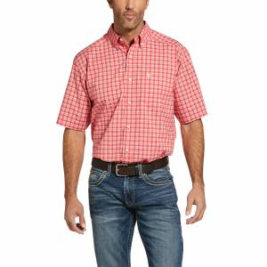 Ariat Mens Pro Series Idelwood Stretch Classic Fit Short Sleeve Shirt