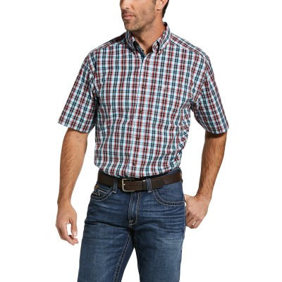Ariat Mens Pro Series Ines Classic Fit Short Sleeve Shirt