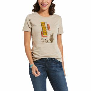 Ariat Ladies Comfort Stay Short Sleeve T-Shirt