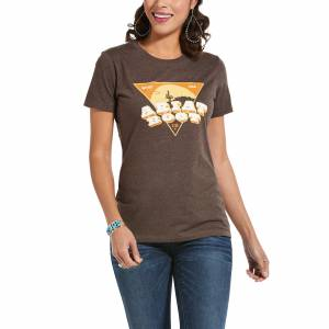 Ariat Ladies The West Short Sleeve T-Shirt