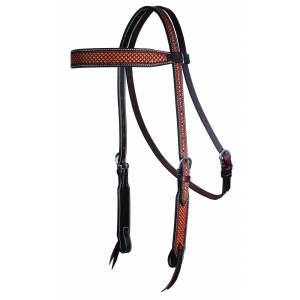 Professionals Choice Reptile Browband Headstall