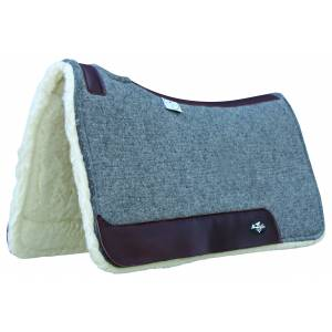 Professionals Choice Deluxe 100% Wool Pad with Fleece