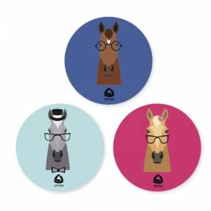 Lettia Hipster Horse Stickers