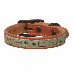 Weaver Leather Minty Dog Collar